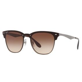 Óculos De Sol Ray-Ban Clubmaster Sem lente polarizada no Mercado ... ad71835791