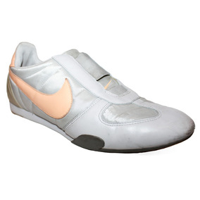 Tenis Casual Nike Color Gris 24 Cm Piel Slip On