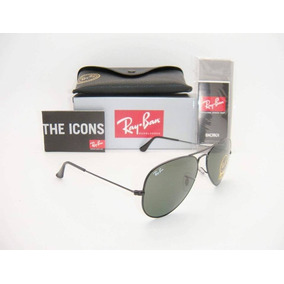 b723948bad Gafas Ray Ban 100% Originales 3025 L2823 Negras De Aviador