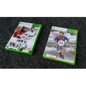 2 Jogos= Fifa 12 + Fifa 13 Original Para Xbox 360 Slim Usado