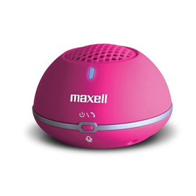 Parlante Portatil Bluetooth Maxell - Pink