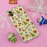 Estuche Serie Tpu Navidad Para Xiaomi Mi 6x A2