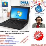 Laptop Dell Latitude 2100/2120 Mini 2gb/160-320gb Hdd Intel