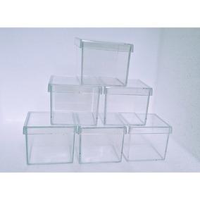 Kit Com 100 Caixinhas Acrílicas 5x5