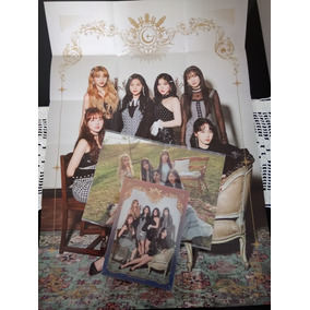 Gfriend - Album Vol.2 [time For Us] (midnight Ver.) + Poster