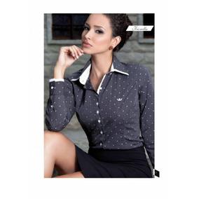 Camisa Principessa Fiorella Luxo Com Fio 120 Premium Tam 42 d5c3ddb58a2