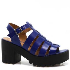 Sandália Chunky Zariff Shoes Plataforma 3732 | Zariff