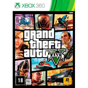 Gta 5 - Mídia Digital Original Xbox 360