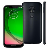 Motorola Moto G7 Play 32gb Índigo Novo Lacrado Nota Fiscal