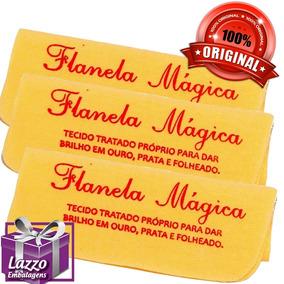 50 Flanela Magica Original Limpa Ouro Prata Folheado Atacado