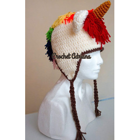 Gorro Unicornio Crochet