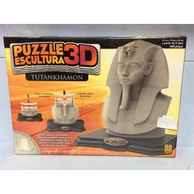 Puzzle Escultura 3d Tutankhamon Grow Ref 03357