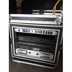 Rack + Power Mackie M800 Qsc 1500 - Driverack Dbx Pa+