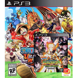 One Piece Unlimited World Red+ns:ultimate Ninja Storm (ps3)