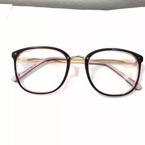 Óculos De Grau Gian Bragi - Óculos Rosa claro no Mercado Livre Brasil 263a86a972