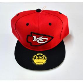 Gorra Plana Bordada   Kansas City Chiefs   Ajustable da6b776e71b