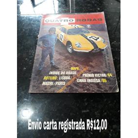 Revista Quatro Rodas 55 Fevereiro 1965 Simca Gordini Dkw