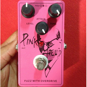 Big Knob Pink Freud Fuzz With Overdrive Usa - Willaudio