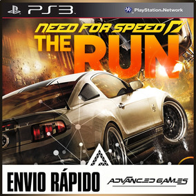 Need For Speed The Run Nfs - Jogos Ps3 Psn Midia Digital