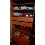Mueble Organizador Con Baulera Y Estantes Regulables.