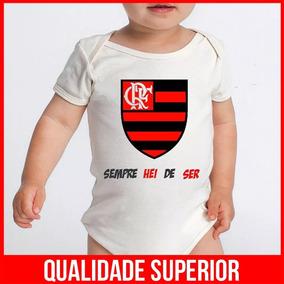 495a3c3665 Roupa Recém Nascido Flamengo - Roupas de Bebê no Mercado Livre Brasil