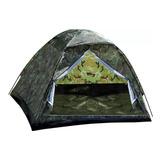 Barraca Camping Camuflada Militar 4 Lugares - Melhor Preço!