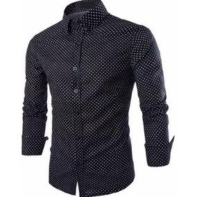 Camisas Social Masculina Slim - Promoção - Pp Ao Plus Size · 22 cores 04c7e2ad9bbe2