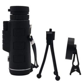 40 X 60 Solo Óptica Hd Monocular Celular Cámara Lente T-2501