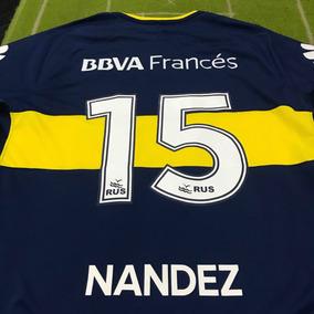 Camiseta De Boca Nandez - Camisetas en Mercado Libre Argentina 01e6383b72131