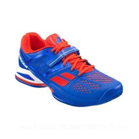 Tenis Babolat Propulse Ac - Azul E Laranja