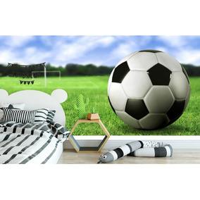 ae72e837d8 Adesivo Futebol Papel Parede Revestimento Quarto Infantil