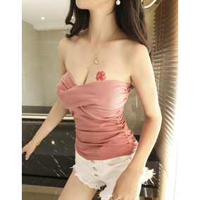 Sexy Blusa Sin Mangas Copas Mujer Casual Outdoor