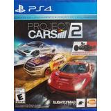 Project Cars 2 Ps4 Español Nuevo Sellado Delivery Stock Ya