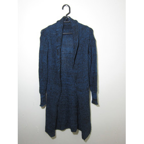 Saco Lana Azul Oscuro Mujer - Ropa y Accesorios en Mercado Libre ... 3143b266f165