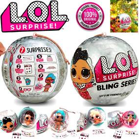 Lol Surprise Serie Bling Niñas Muñecas Juguetes Original