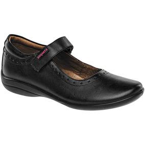 Zapato Escolar Para Niña Marca Coqueta Piel 170702-a Dgt