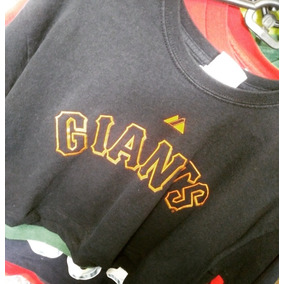 Remera Crop Top Giants Magestic Beisball Mujer Hip Hop d36021467fd