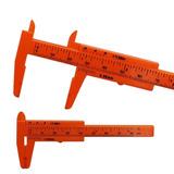Vernier Calibrador Mini Plastico 80mm Cejas Microblading