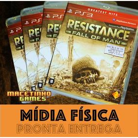 Resistance Fall Of Men Ps3 Mídia Física Lacrado Novo Origina