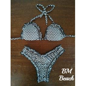 Biquini Ripple Bm Beach - Calçados, Roupas e Bolsas no Mercado Livre ... 43533eb968