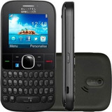 Celular Alcatel Onetouch 3075 - 3g, Wifi, Preto (vitrine)