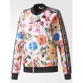 9283891277f Jaqueta adidas Wb Hooded Floral Cetim Com Capuz Original. Rio de Janeiro · Jaqueta  Floral adidas
