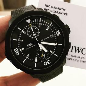 4c677df0d7d Lindo Relogio Iwc Aquatimer Automatico - Relógios De Pulso no ...