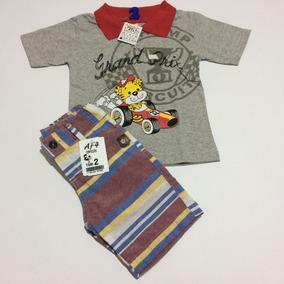 8b95113dff Conjunto Infantil Bermuda Polo - Conjuntos Infantis no Mercado Livre ...