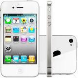 Smartphone Iphone 4 Apple 16gb Single 3g Branco Vitrine 1