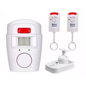 Kit C/ 4 Alarme Residencial Sensor De Presença S/fio Sirene