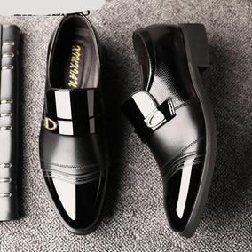 Hombre Para Zapato Zapatos Vestir Mercado En Charol 6Y7ybIfgv