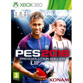 Pes 2018 - Português Original Midia Digital Xbox 360