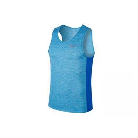 Regata Nike Breathe Miller Tank Cool Masculino (azul G) 398159752d2