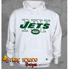Sudadera Nfl Jets De Nueva York By Tigre Texano Designs